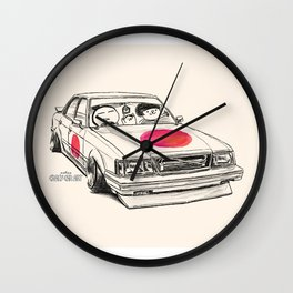 Crazy Car Art 0172 Wall Clock