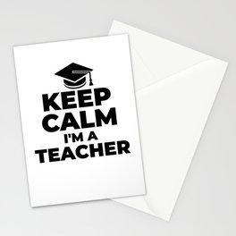 School Teacher Class Kindergarden Stationery Cards