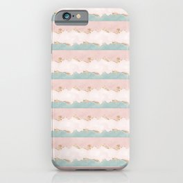 Elegant Gold Pastel Watercolour Bible Verse His will His way My faith iPhone Case