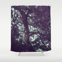 fairies Shower Curtains featuring Where are the fairies ? by Françoise Reina