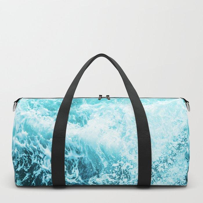 Perfect Sea Waves Duffle Bag