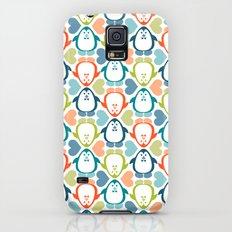 NGWINI - penguin love pattern 5 Galaxy S5 Slim Case