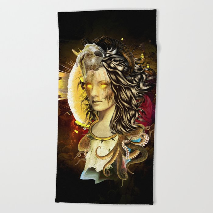 Mage Beach Towel