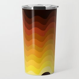 70s Ripple Travel Mug