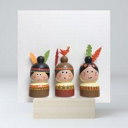Halona, Sacajawea & Aponi Mini Art Print
