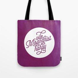 Vile Misandrist Harpy Tote Bag
