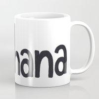 ohana Mugs featuring OHANA by marcsaisofficial