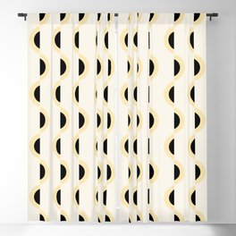 Gwynne Pattern - Canary Blackout Curtain
