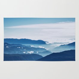 Blue On The Mountains Rug