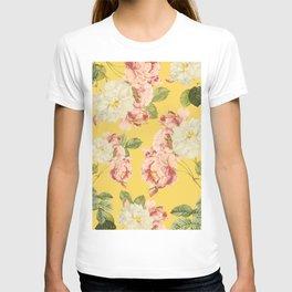 Flora temptation - sunny mustard T-shirt
