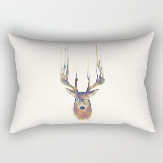 Deer // Steadfast Rectangular Pillow