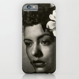 Billie Holiday, 1940's Portrait iPhone Case