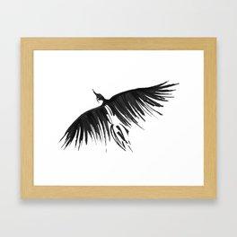 Raven Flight Framed Art Print