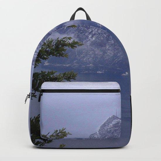 Lake Lugano Backpack