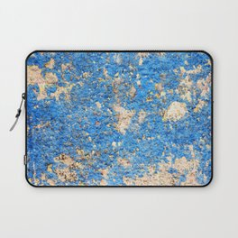 Textures in Blue Laptop Sleeve