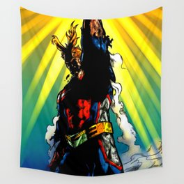 THE SYMBOL OF PEACE - ALL MIGHT Wall Tapestry