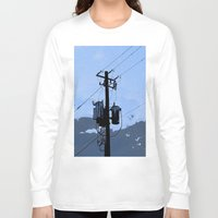 transformer Long Sleeve T-shirts featuring Transformer by AMarloweCanPrint