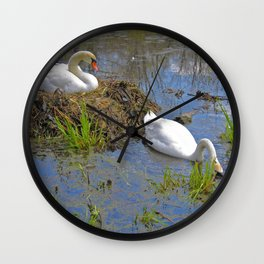 Expectant Wall Clock