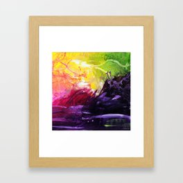 Secret Powers Framed Art Print