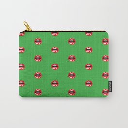 SEXY LIPS ((shamrock)) Carry-All Pouch