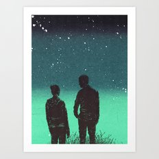 Awestruck Night Art Print