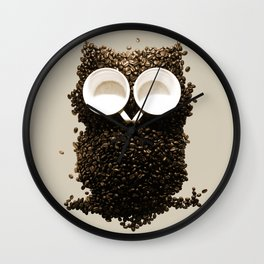 Hoot! Night Owl! Wall Clock