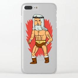 Saviour Clear iPhone Case