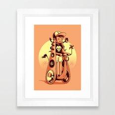 Dilatation is beauty! Framed Art Print