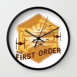 The First Order Wall Clock