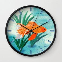 The Goldfish Wall Clock