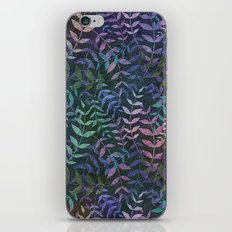 Tiny Leaves Pattern iPhone & iPod Skin