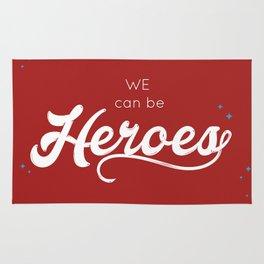 heroes forever Rug
