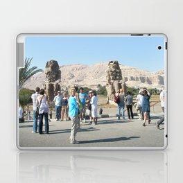 The Clossi of memnon at Luxor, Egypt, 3 Laptop & iPad Skin