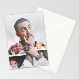 Mac Miller Gloss Poster Stationery Cards