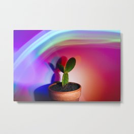 Supercolor Cactus Metal Print