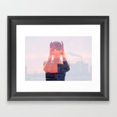 Insideout 8. Mind Pollution Framed Art Print