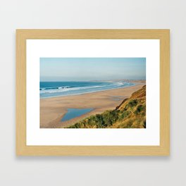 Cornwall, England Framed Art Print