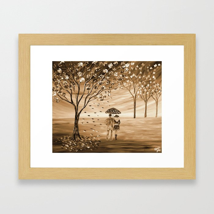 Couples in Love Framed Art Print