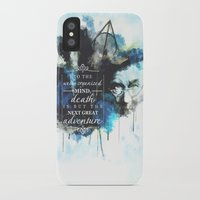 dumbledore iPhone & iPod Cases featuring Dumbledore by Rose's Creation