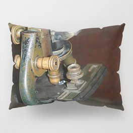 Old Microscope Pillow Sham