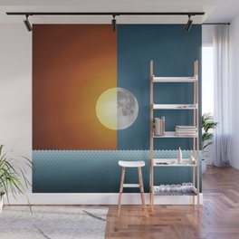 Sun & Moon Wall Mural
