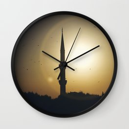 The Blue Mosque Wall Clock