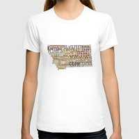 montana T-shirts featuring Montana by Madison Apple