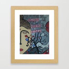 Bouddha Framed Art Print