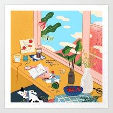 window side Art Print