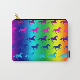Psychedelic Unicorn Pattern Carry-All Pouch