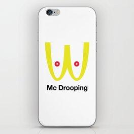 Mc Drooping iPhone Skin