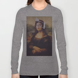Afghan Mona Lisa Long Sleeve T-shirt