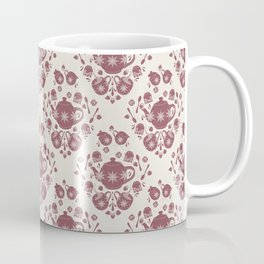 Afternoon Tea Damask Coffee Mug