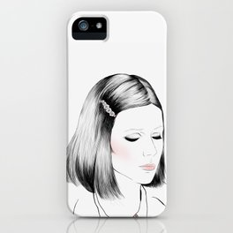Gwyneth Paltrow (as Margot Tenenbaum) - Melancholia Serie iPhone Case